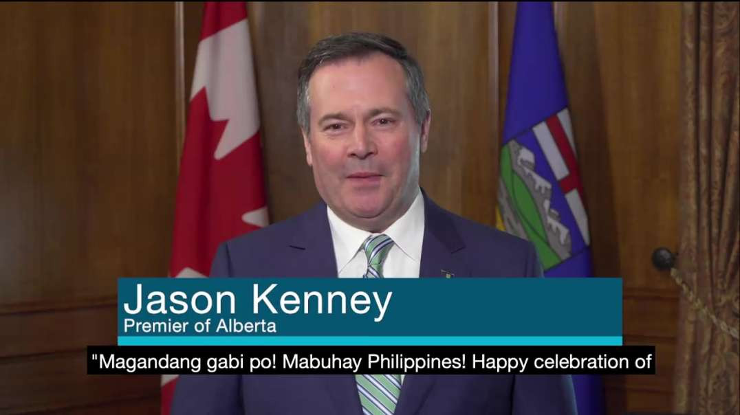 Happy Philippine Independence Day! | Jason Kenney Premier of Alberta Canada