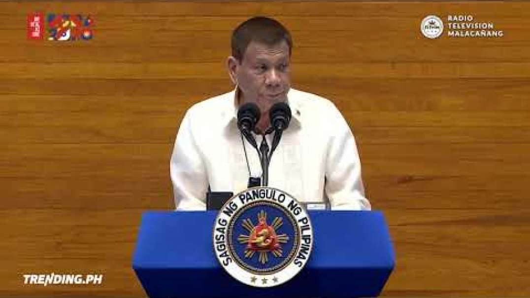 President Rodrigo Duterte's State of the Nation Address #DuterteSONA2020