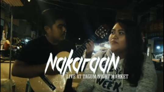 Lara Borrega – Nakaraan (Live at the Tagum Night Market)