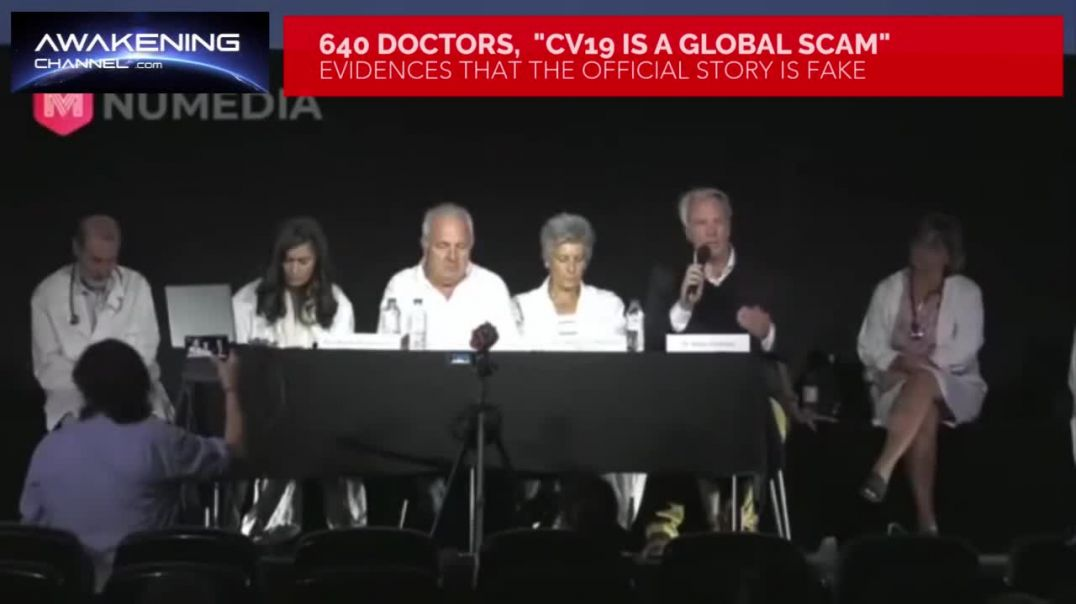 "640 Doctors Claim that ""COVID-19 is a Global Scam"""