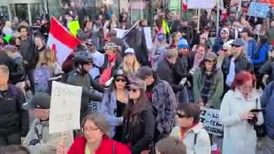 Toronto, Canada Anti Mask Protest - October 17, 2020