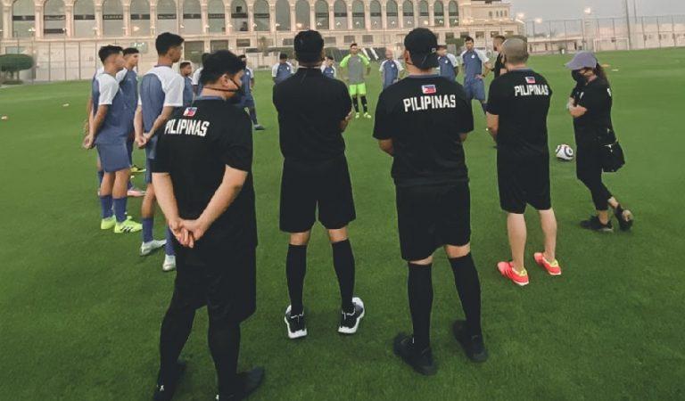 PHL Azkals starts training in Doha, Qatar for World Cup qualifiers