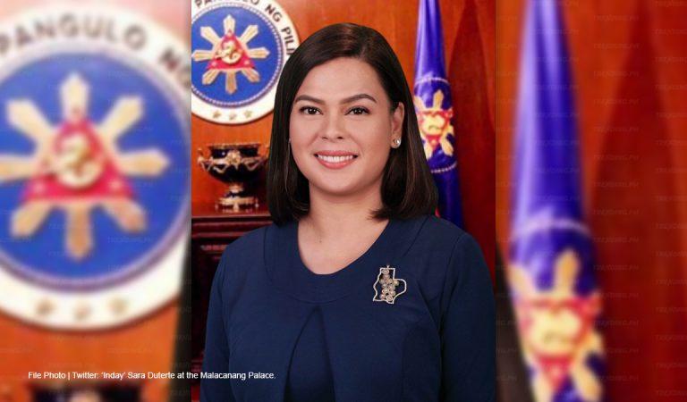 'No doubt Sara Duterte will definitely run' for President in 2022, says Salceda