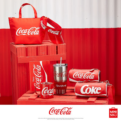 Share The Happiness with Miniso x Coca-Cola