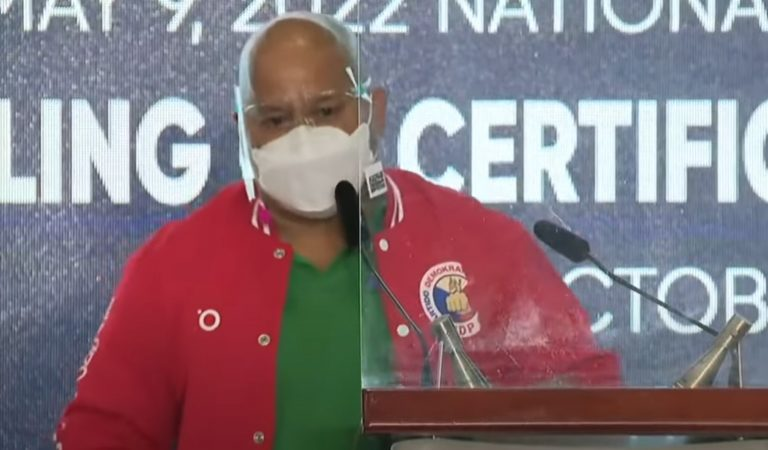 Sen. Bato to run for President in the 2022 Elections