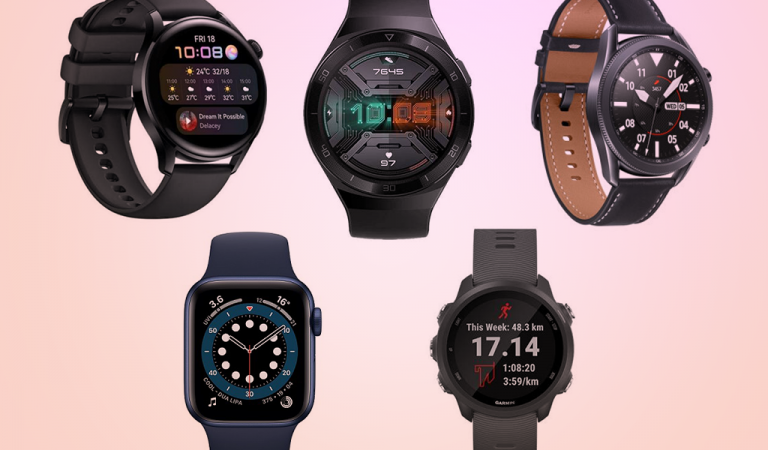 Top 5 Smartwatch 2021: Find the One Suits You
